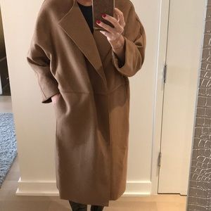 NWT!  DVF Wool Dolman Coat